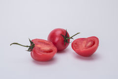 Small tomatoes. Rich nutrition of tomato, it is health food for young and old Stock Photography