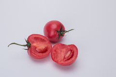 Small tomatoes. Rich nutrition of tomato, it is health food for young and old Stock Photo