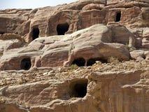 Small tombs, Petra Jordan Stock Photos