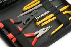 Small toolkit in a case Stock Images