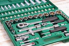 Small tools box Royalty Free Stock Photos