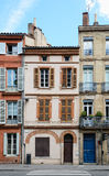 Small Toulouse Houses Stock Image
