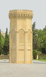 The small tower in the eastern style. Stock Photo