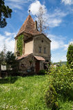 Small tower in Sighisoara Stock Image