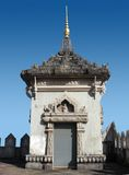 Small tower in Vientiane Stock Image