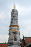 A small tower at Wat Arun - Temple of Dawn Royalty Free Stock Image