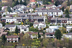 Small town. View of a small town in Germany Royalty Free Stock Photo