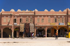Small town of Agdz in Morocco Stock Photos