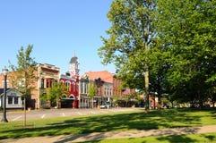 Small-town Amerika Royalty-vrije Stock Foto