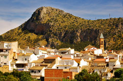 Small town in Andalusia Royalty Free Stock Photo
