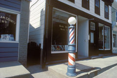 A small-town barbershop Royalty Free Stock Photos
