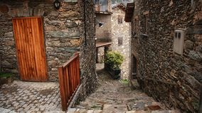 Small town in Catalonia Stock Image