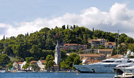Small town Cavtat Royalty Free Stock Photo