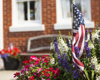 Small town Celebration. Small town America celebrates being American Royalty Free Stock Photo