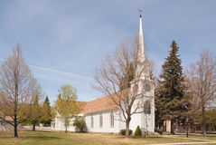 Free Small Town Church Stock Image - 10333831