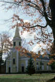 Small town church. An old time church in a small town Royalty Free Stock Photos