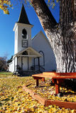 Small town church Royalty Free Stock Photography
