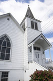 Small town church Stock Image