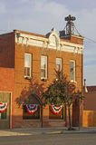 Small town city hall Stock Photos