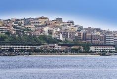 Coastline in Italy Royalty Free Stock Photos
