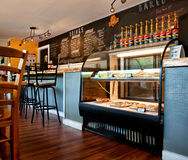 Small town coffee shop Stock Images