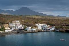 Small town El Puertito, Tenerife island Royalty Free Stock Image