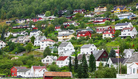 Small town in europe Stock Photos