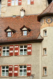 Small Town,Feldkirch,Austria. Old building in Feldkirch.Austria Stock Photography