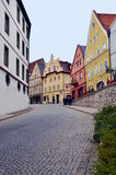 Small town Fussen in Bavaria, Germany Stock Photo