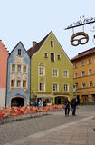 Small town Fussen in Bavaria, Germany Royalty Free Stock Images