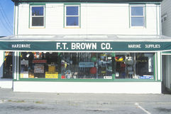 Small-town hardware store Royalty Free Stock Photography