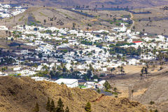 Small town of Haria in Lanzarote Stock Image