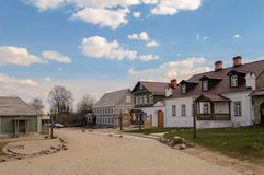 Small town Izborsk in Pskov region Royalty Free Stock Photos