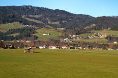The small town of Koessen in Tyrol, Austria Stock Image