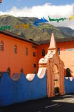 Small town in Latin America Stock Images