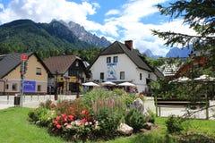 Slovenien mountains royalty free stock photo
