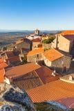 Small Town Monsanto in Portuguese Mountains Royalty Free Stock Photos