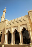 Small Town Mosque at Dubai, UAE. Image of a small town mosque at Dubai, United Arab Emirates Royalty Free Stock Images