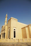 Small Town Mosque at Dubai, UAE. Image of a small town mosque at Dubai, United Arab Emirates Royalty Free Stock Photography