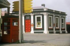 Small town near Coromandel in New Zealand Stock Photo