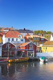 Small town in Norway Stock Images
