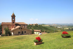 Free Small Town Of Grinzane Cavour, Italy. Stock Photography - 20840672