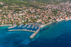 Orebic, Croatia. Small town Orebic, Peljesac peninsula, Croatia. Well known tourist destination stock photo