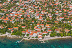 Orebic, Croatia. Small town Orebic, Peljesac peninsula, Croatia. Well known tourist destination stock photos