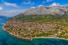 Orebic, Croatia. Small town Orebic, Peljesac peninsula, Croatia. Well known tourist destination royalty free stock photography