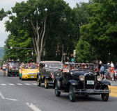 Small Town Parade Royalty Free Stock Photography