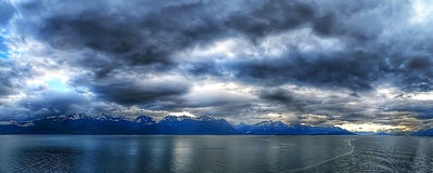 Free Small Town Port In Ketchikan Alaska Stock Photo - 97003910