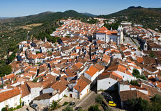 Small Town in Portugal Royalty Free Stock Images