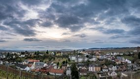 Johannisberg. Small town in Rheingau, Germany Royalty Free Stock Photo
