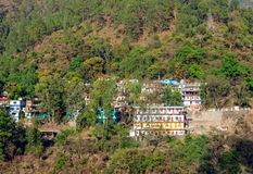 Small town Rudraprayag Royalty Free Stock Photography